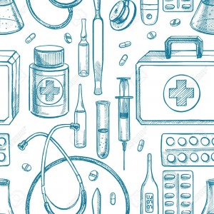 38194163-seamless-background-with-sketch-medical-supplies-hand-drawn-illustration