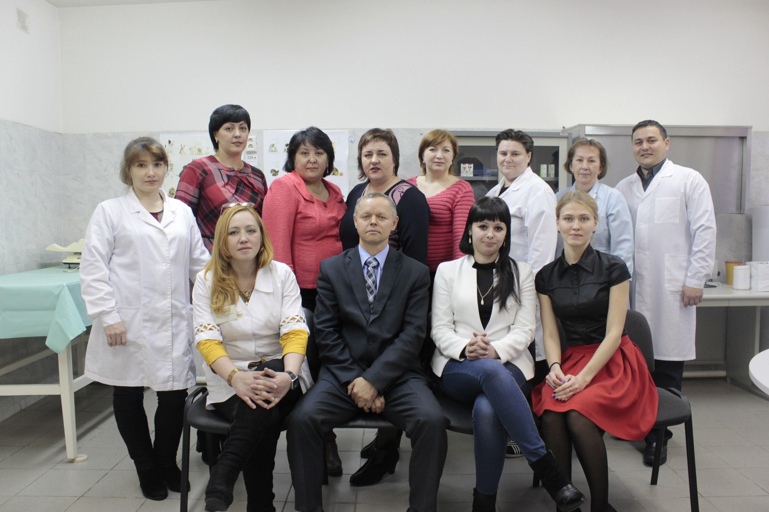 коллектив филиала в Белоярском