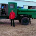 проверка техсостояния ДУКа (начальник отдела Никишин Ю.Н., водитель Рождествин В.В.)